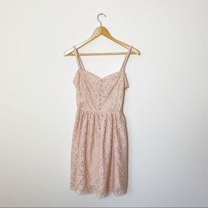 Talula | Blush Lace Debutante Dress | 4